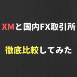 XMと国内FX取引所を徹底比較!