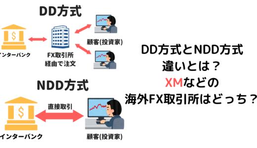 DD方式とNDD方式の違いとは?XM(エックスエム)などの海外FX取引所はどっち?