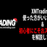 XMがFX初心者向けの海外FX業者といえる理由